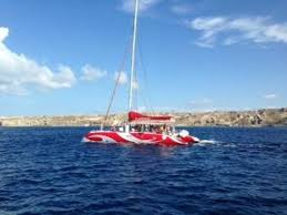 Dream Catcher Boat Santorini Dream Catcher 100' Catamaran Picture of Santorini Sailing 11