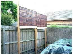 backyard privacy screens privacy fence