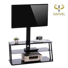 tv stand with shelves.  Shelves TAVR TV Stand Entertainment Center With Swivel Mount And Storage Shelves  3in In Tv With E