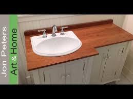 diy bathroom vanity countertops. how to make a wooden vanity top countertop youtube inside diy bathroom diy countertops e