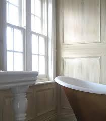 white painted wood paneling houzz