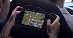 Valve Steam Deck handheld features 7 inch touchscreen with 1280 x 800  resolution