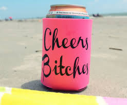 Beach Koozie Designs Pin On Bachelorette Party Decorations