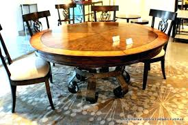 rotating expanding table round table that expands expanding circular table expanding rotating expanding wooden table