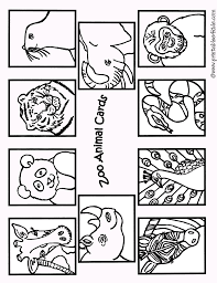 Small Picture Zoo Animals Coloring Pages For Preschoolers Archives In Zoo Animal