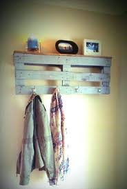 Coat Rack Shelf Diy diy pallet coat hanger cityofhopeco 42