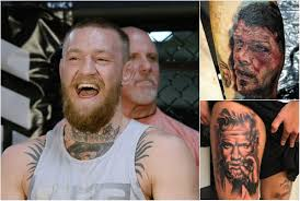 Michael Bisping And Conor Mcgregor Face Tattoos By Ufc Fans Are