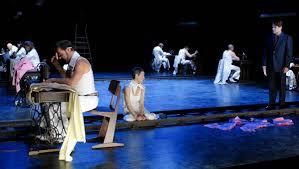 Austria, city of vienna, operngasse. Theater An Der Ruhr Treppe Nach Oben