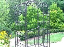 metal garden trellis arch folding wrought iron panels fresh steel arched australia met metal garden trellis decorative arched