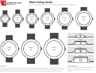 Size Charts Pdf Templates Download Fill And Print For Free