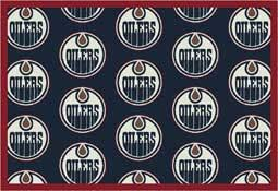 Edmonton Oilers NHL Area Rugs and Mats