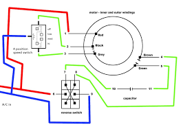 4 wire ceiling fan capacitor wiring diagram images wire ceiling wiring diagram for ceiling fan reverse switch capacitor