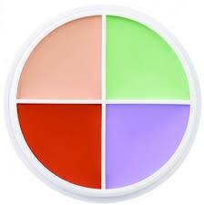 ben nye 4 colour corrector wheel