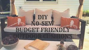 diy no sew budget friendly outdoor