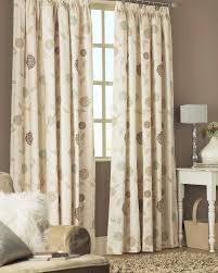 rosemont ready made curtains natural fully lined pencil pleat curtains available upto drop