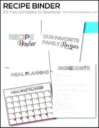 Recipe Book Formats Family Cookbook Template Recipe Book Printable Fresh Format