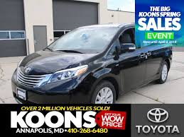 2017 Toyota Sienna Limited Premium 7 Passenger For Sale | Annapolis MD