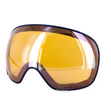 Skibrille Red Bull Spect Magnetron Shiny White Blue Snow Cloudy Snow