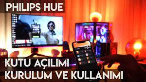 Philips Hue İnceleme, Akıllı Ev Aydınlatma Sistemi - YouTube