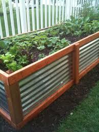 corrugated metal raised garden beds. 12 Raised Garden Bed Tutorials Corrugated Metal Beds E