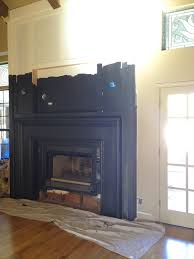 painting the fireplace black little green notebook black galaxy granite fireplace surround black granite tile fireplace