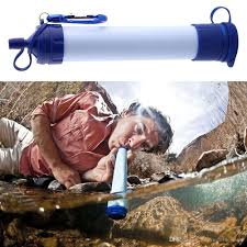 survival water purifier. 2016 Hot Personal Survival Water Filter Portable Waterstraw Outdoor Purifier For Emergency Earthquake Camping Hiking