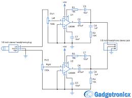 diy headphone amplifier circuit diagram using lm audio diy headphone amplifier circuit diagram using lm386 audio amplfiier chip working and construction of headphone