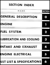 1972 1973 toyota 18r c engine repair shop manual celica pickup table of contents