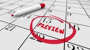 Preview Coming Soon Calendar Day Date Plan Schedule 3 D Animation
