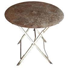 folding garden table antique french folding bistro or garden table for folding garden table and chairs asda