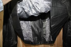 black rivet faux leather coats jackets for women