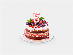 Anniversary Cake Icon Making Of By Simion Dribbble Dribbble