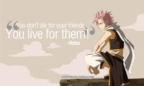 Fairy Tail Love Quotes Impressive Anime Quotes Tumblr Discovered By Love Sucks