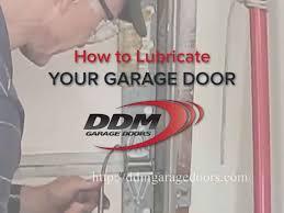 ddm garage doorsHow to Lubricate Your Garage Door  YouTube