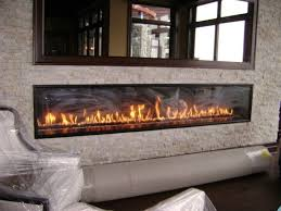 contemporary ventless gas fireplace