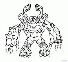 Skylander Giants Coloring Pages Free Large Images