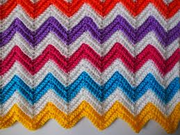 Double Crochet Chevron Pattern Fascinating Zali ZigZag Crochet Chevron Blanket Tutorial Knittting Crochet