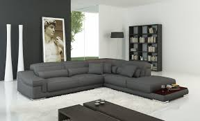White Furniture Living Room Corner Leather Fabric Sofas Sofa Bed Black Brown
