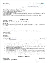 Sample Resume Format For Freshers Software Engineers Best Of 9 Best