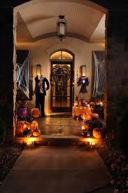 halloween outdoor lighting. Diy Halloween Door Decorations For To Make Front Porch Easy Decorating Outdoor Lighting U