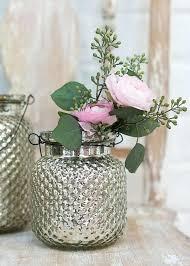 assorted silver mercury bud vases enchanted emporium vase glass pilsner hire ivy vase mercury glass silver