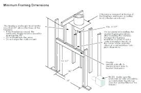 gas fireplace framing corner rough