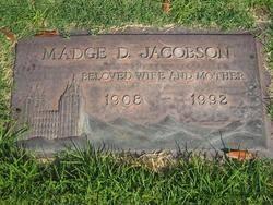 Madge Devona Johnson Jacobson (1908-1992) - Find A Grave Memorial