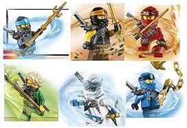 Ninjago suits for Season 11 : Ninjago