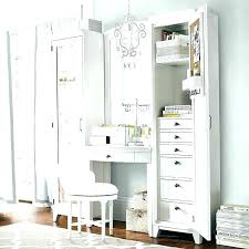 white makeup vanity with drawers bedroom and also table mirror bench wit