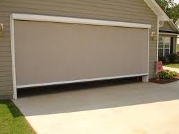 retractable garage door screensElectric Roll Up Garage Screen Doors  hungrylikekevincom