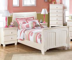 Cottage Retreat Twin Sleigh Bed Bedroom Furniture Beds