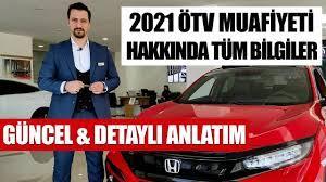 2021 ÖTV MUAFİYETİ GÜNCEL & DETAYLI BİLGİLER - YouTube