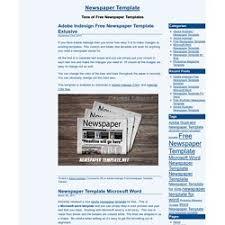 Kids Newspaper Template Newspaper Template Microsoft Word Newspaper Templates For Kids