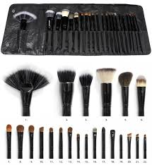 coastal scents brushes. coastal scents 22 piece brush set professional makeup cosmetic w/ case | ebay brushes